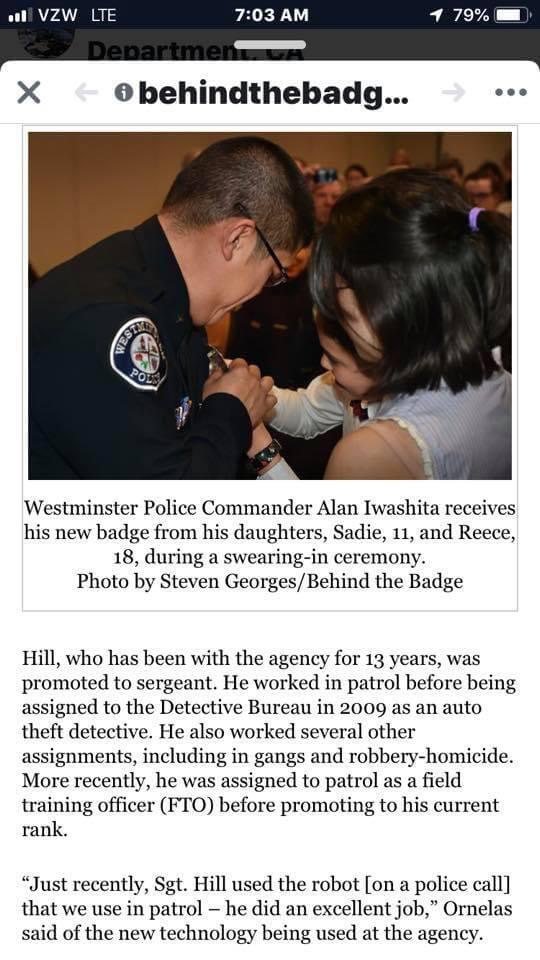 Police Department Animal Control Commander Alan Iwashita