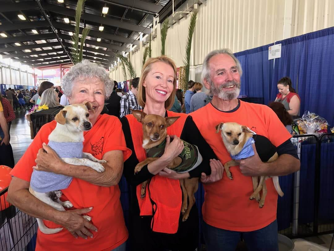 some of our dedicated voluntter wags expo