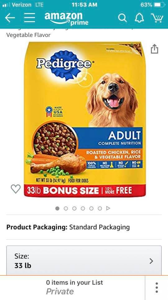 Dog lovers - send WAGS some dry dog food!