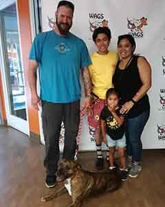 Pepper Louise was adopted! WAGS