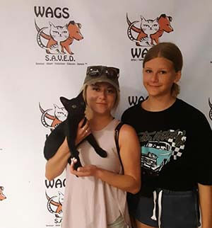 Cat Gemini has been adopted WAGS