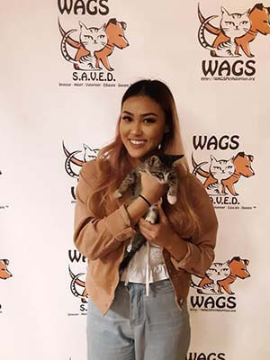 6 Pets was adopted yesterday WAGS