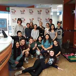 marina high school volunteer WAGS