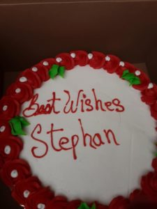 stephan best wishes cake