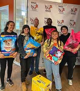 golden west college donate at wags
