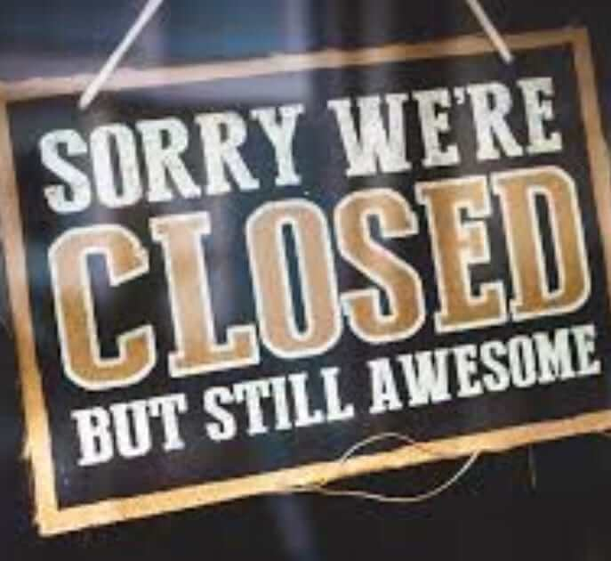 wags closed today