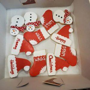 bani La maison de gateaux bakery christmas goodies for WAGS staff