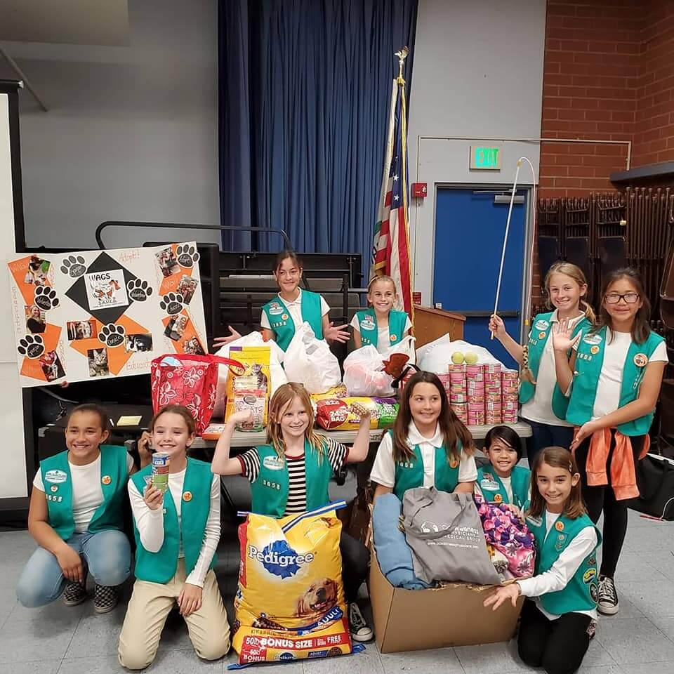Girl Scout troop 3658 family night